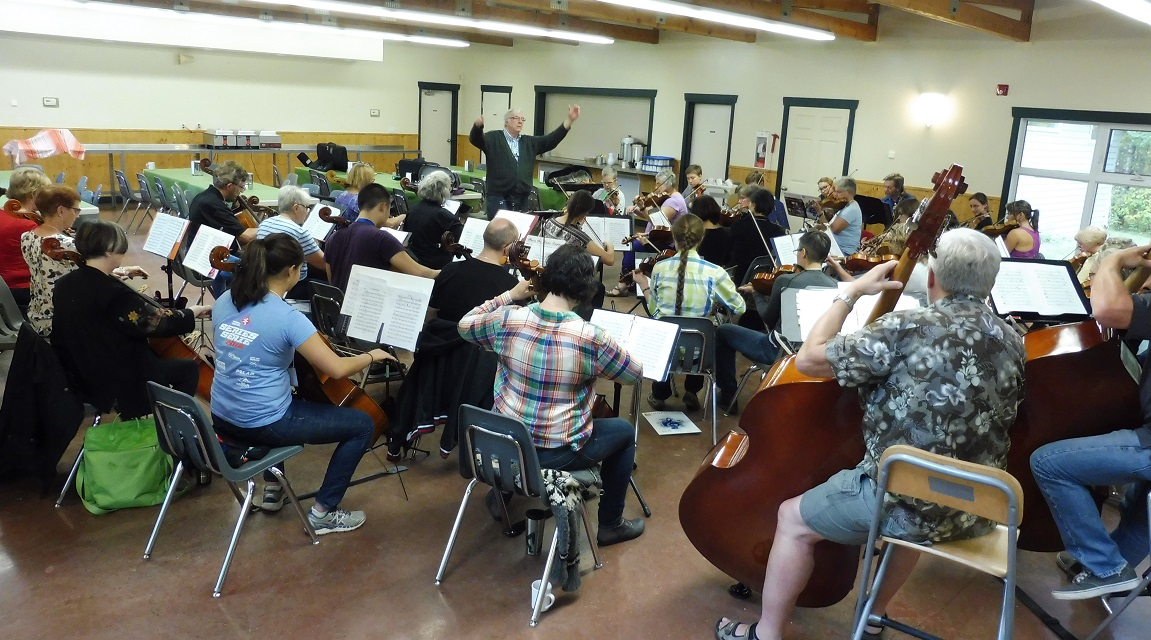 Camp Orchestra with Michael Massey Conducting 2016